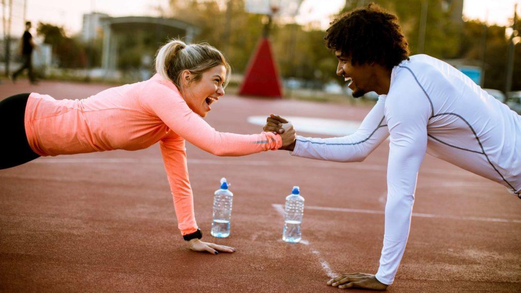 buiten sporten personal training tijdens corona tilburg